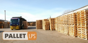 Production of the European level wooden pallets in Lutsk